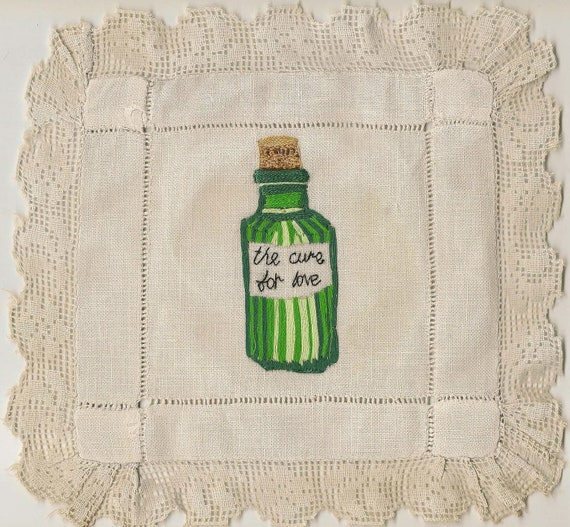 The Cure for Love - Romantic Fine Art Embroidery