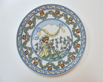 1986 Lucy & Me Plate Love Lives Where Grandma Is
