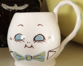 Vintage 1950's Humpty Dumpty 2 Faced Cup By Gayet