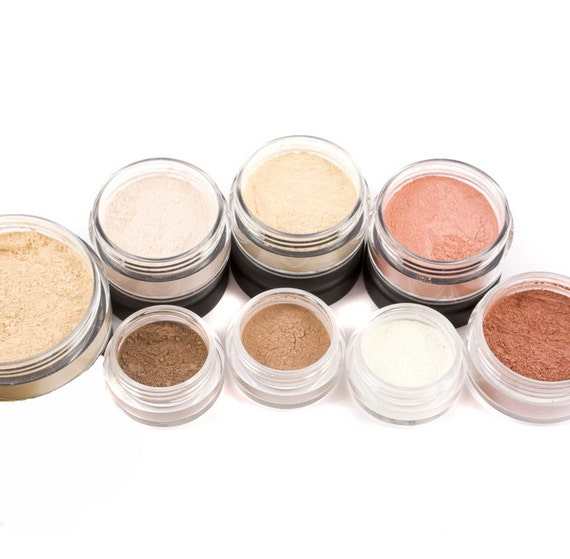 10pc TRY IT Mineral Makeup Kit