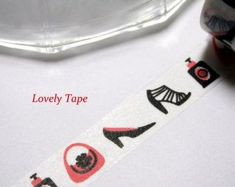 Girl's Fashion Washi Tape