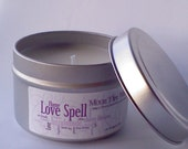 Love Spell Scented Soy Candle 4oz Tin