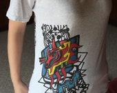 T-Shirt of A Drawing