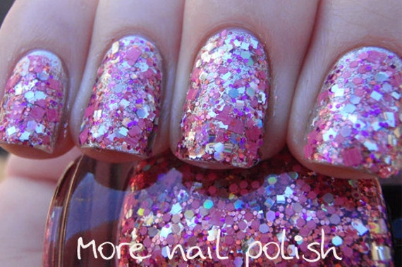 Princess Disco Hand made custom nail polish