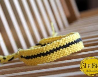 Bee friendship bracelet