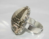 Eiffel Tower Ring 3D Paris Choose from 3 styles Tres Chic