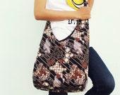 Hobo Bag, Sling Bag, Indonesian printed batik