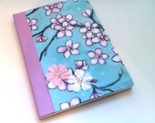 Lavender Cherry Blossom Blank Journal