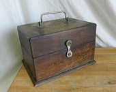 Wood Box with Latch - Turn of the Century