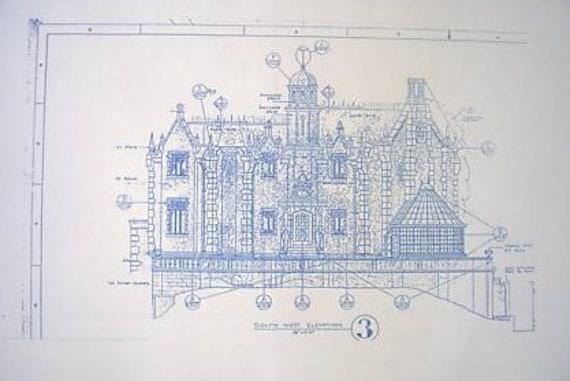 Walt disney world haunted mansion southwest by blueprintplace for Haunted mansion blueprints