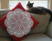 Star Fish Crochet Doily for Pillow