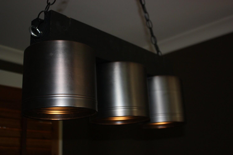 Three light over island light fixture for Light fixtures over island