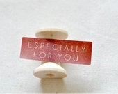 Especially For You Stickers - Red x 18
