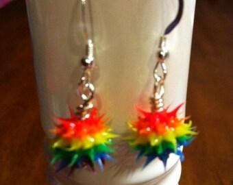 Spikey Earrings