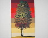 Colors of Fall  tree painting