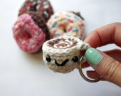 Coffee Keychain - Crochet