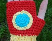 Iron Man-inspired gloves