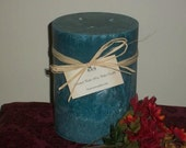 "6""x9"" Round Pillar Candle The Woodsy Collection"