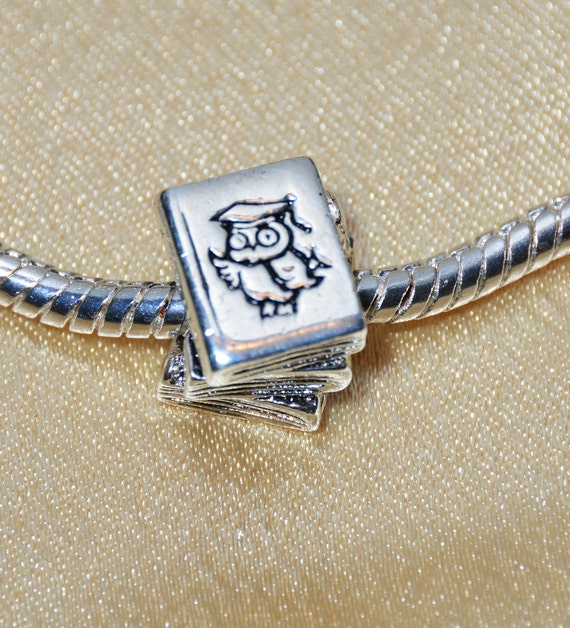 Back to School Textbook Charm Sterling