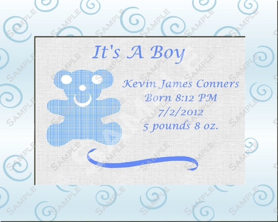 similar to it 39 s a boy baby shower boy gift personalized poem on etsy