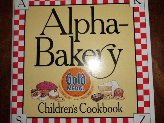 Vintage Alpha-Bakery cookbook for children