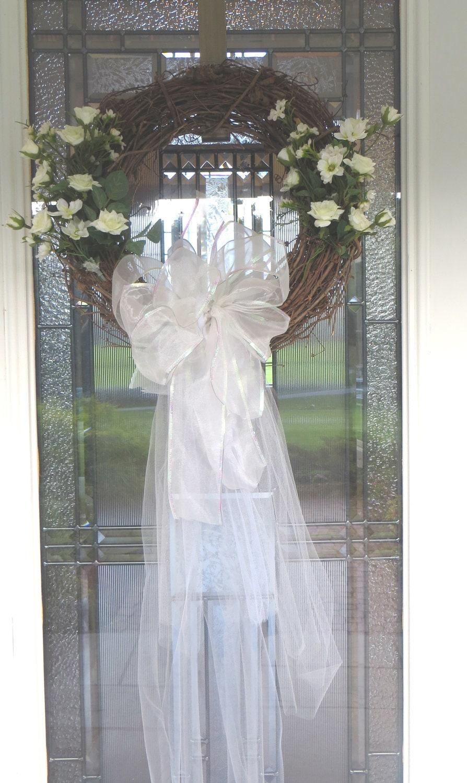Bridal Wedding Wreath Grapevine Florals Amp By