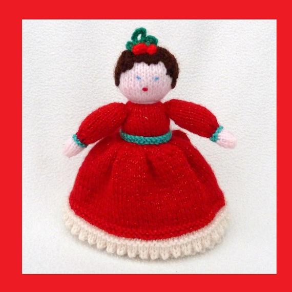 Holly and Mistletoe  Topsy Turvy Doll