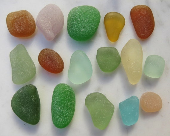Sea Glass, Jewelers Quality, Flawless Smooth Round, Authentic Genuine Beach Glass