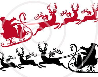 Santa claus clipart   Etsy