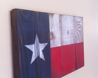 Small Texas State Flag Wall Art