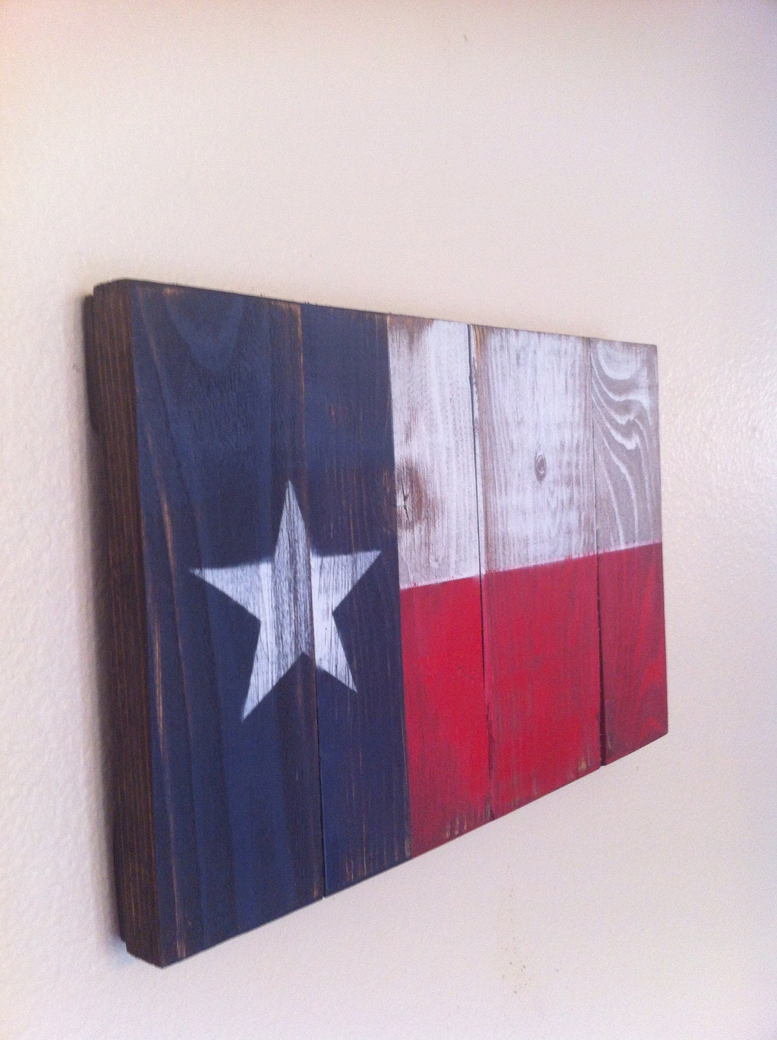small texas state flag wall art. Black Bedroom Furniture Sets. Home Design Ideas
