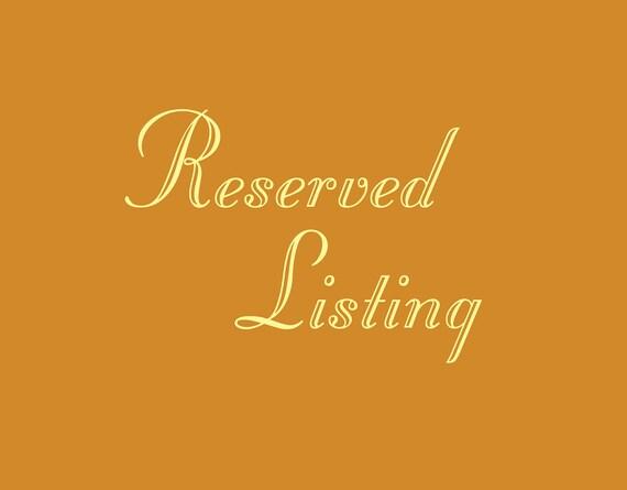 Reserved For Jeton