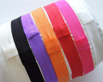Elastic Headbands 12 qty, DIY Headband, Baby Headband, Crafts, Birthday Party accessories