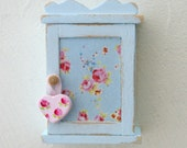 Adorable Little 1:12 scale, Shabby Chic Kitchen Cupboard for your Dollhouse