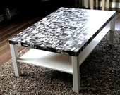 Customized Photo Memory Coffee Table (Bespoke Serendipity Furniture)