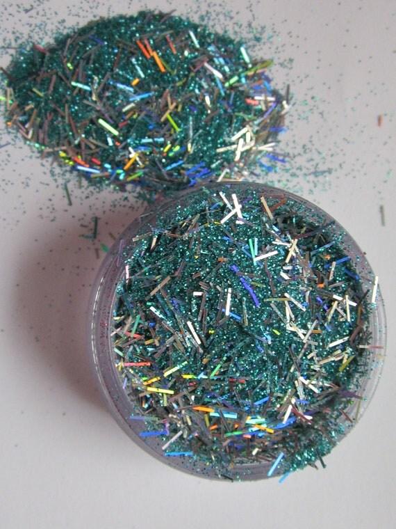 Raw Glitter Mix- Solvent Resistant- Nail Polish - Crafts- Embellishment- Mixed Media- Scrapbooking