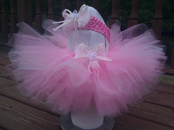 perfectly pink tutu, princess tutu, birthday tutu, girl tutu, newborn tutu, for dress up, dance,  newborn - 4T