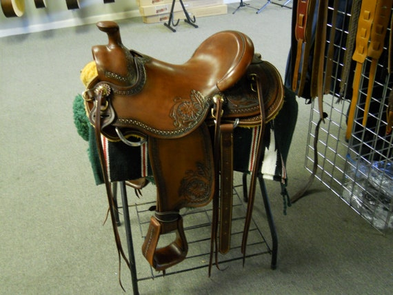 Custom made saddle