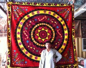 Amazing Middle Eastern Tapestry, HUGE Stunning, Powerful and Rich