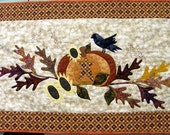 Americana Fall Quilted Wall Hanging Harvest Table Quilted Table Topper