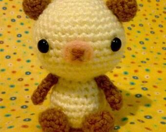Milk and Honey Amigurumi Crochet Teddy Bear Baby