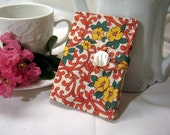 Tea Wallet- vintage fabric