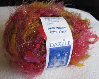 4 Balls Classic Elite Yarns Dazzle Bright and Fun Reds and Yellows