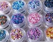 Frit Blend Mini Sample Set - Glass Frit Blend - CoE 92 - 96 (suitable for use on glass COE 90 - 104)