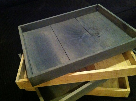 rustic wooden tray, serving tray, decorative tray, custom trays