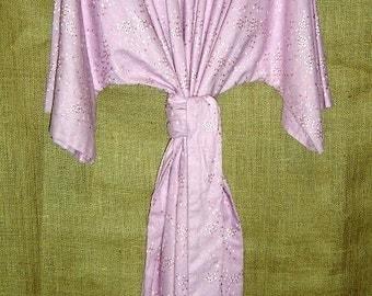 53 - Pink Eyelet T-Tunic Dress