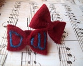 Doctor Who - Felt Bow Ring Set