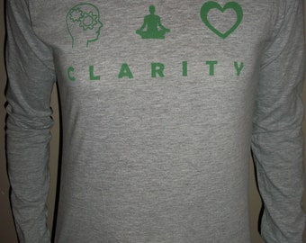 Mind Body Soul CLARITY Long-sleeved t-shirt