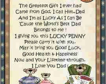 Dad Lucky Penny