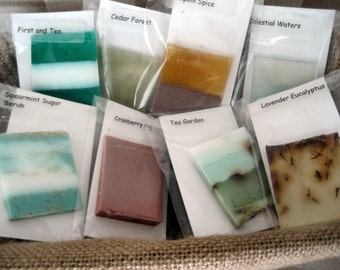 Five Soap Samples - Try Before You Buy